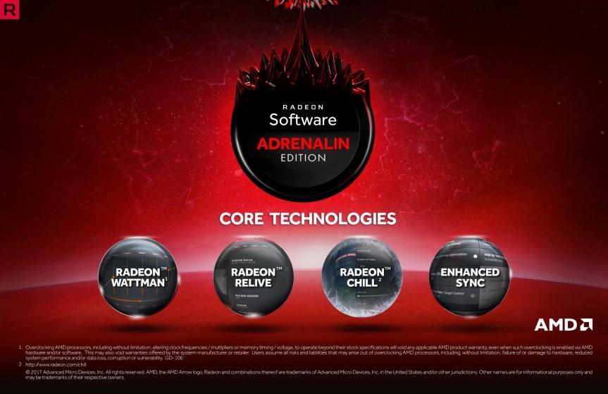Radeon Adrenalin_Core Tech NEW INTERFACE