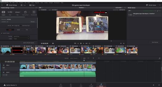 video editing with davinci