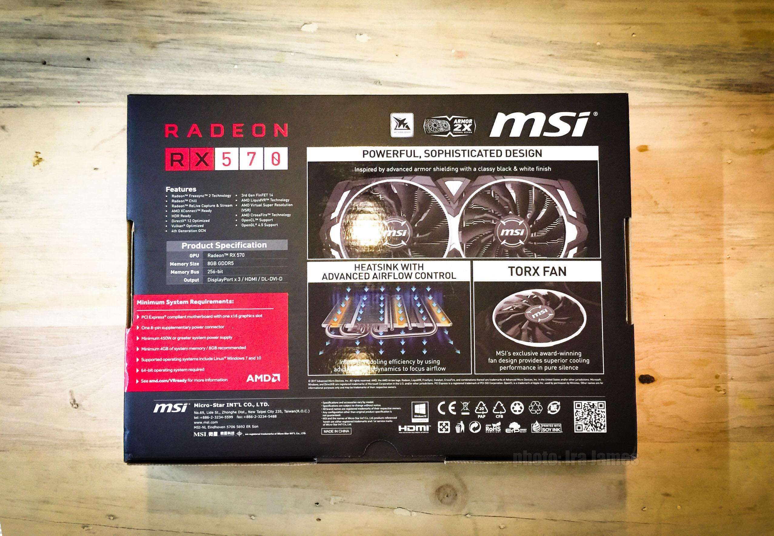 Msi radeon rx 570 drivers | MSI Radeon RX 570 Armor card not